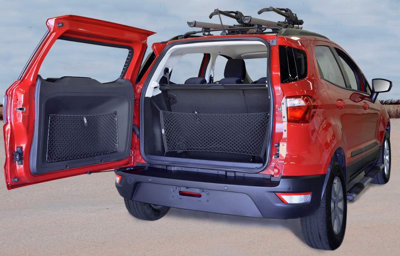 Accessorised 2018 Ford EcoSport rear three quarters