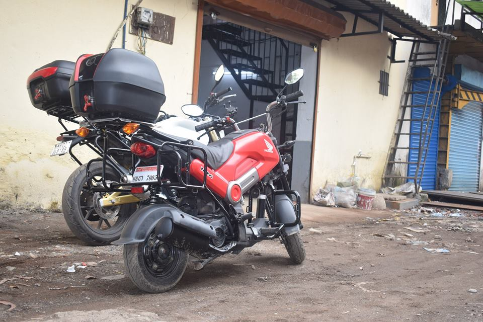 Honda Navi touring mod by Sahyadri rear right quarter