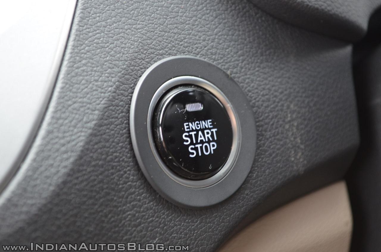 Hyundai Verna 2017 test drive review start stop button