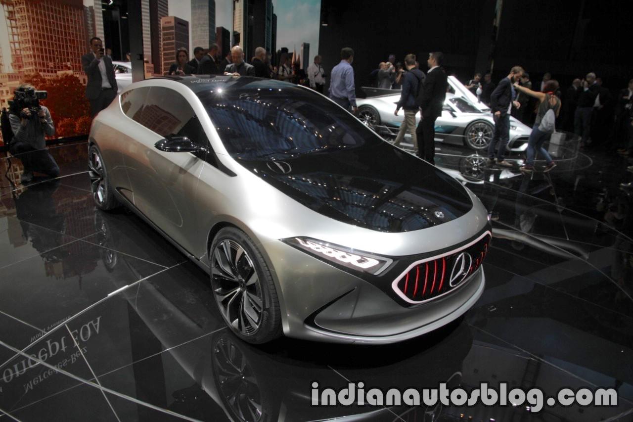Mercedes-Benz Concept EQA at the IAA 2017 - Live