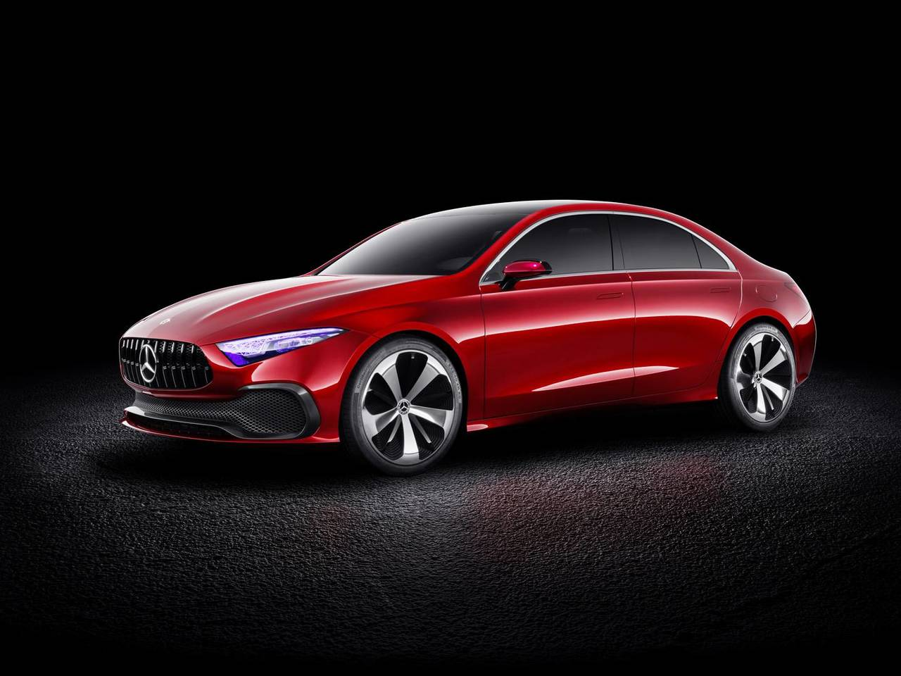 Mercedes Concept A Sedan front three quarters