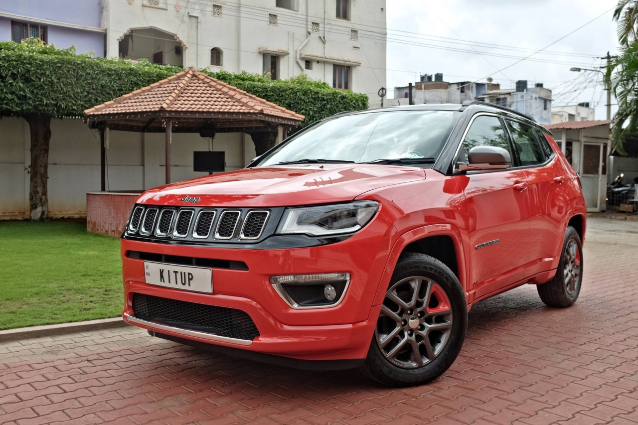 Modified Jeep Compass Front Three Quarters