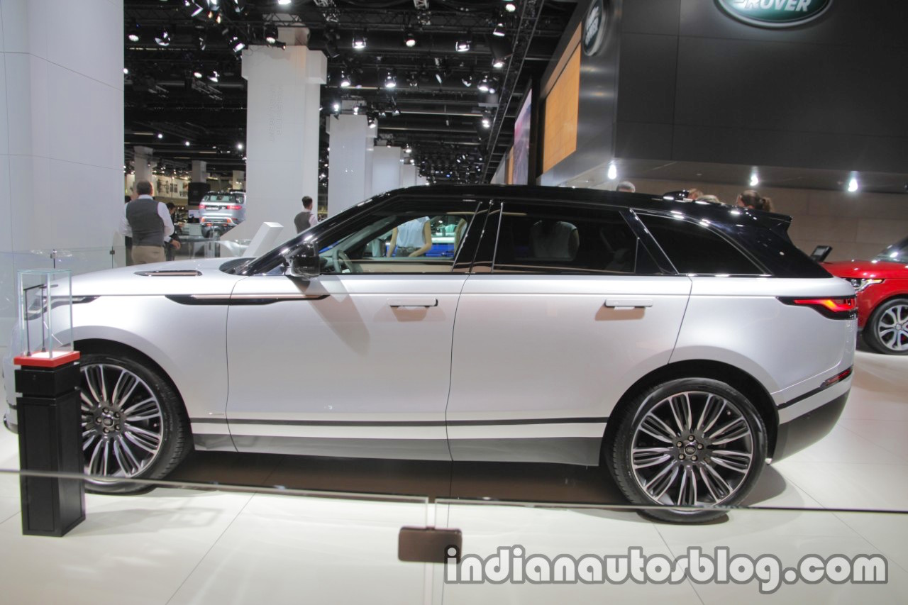 range rover velar range rover velar first edition showcased at iaa. Black Bedroom Furniture Sets. Home Design Ideas