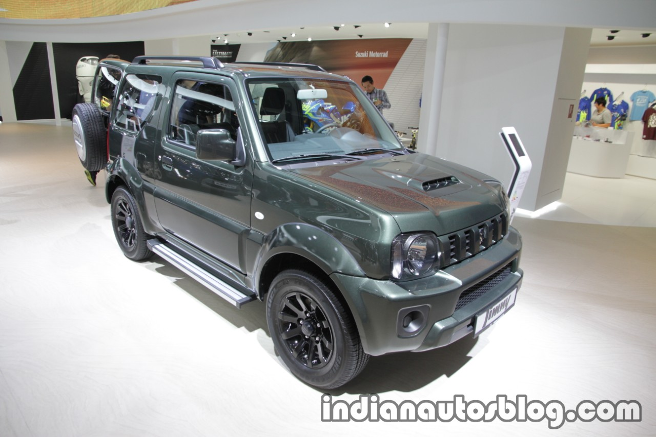 suzuki jimny showcased at iaa 2017 live. Black Bedroom Furniture Sets. Home Design Ideas