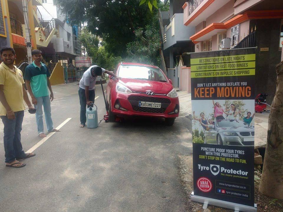 Tyre Protector Bengaluru Hyundai Grand i10