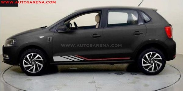 VW Polo 10th Anniversary Edition profile leaked image