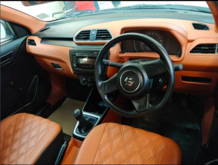2017 Maruti Dzire custom interior dashboard