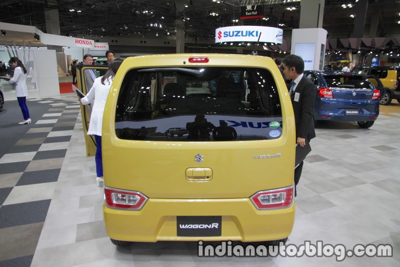2017 Suzuki WagonR rear at 2017 Tokyo Motor Show