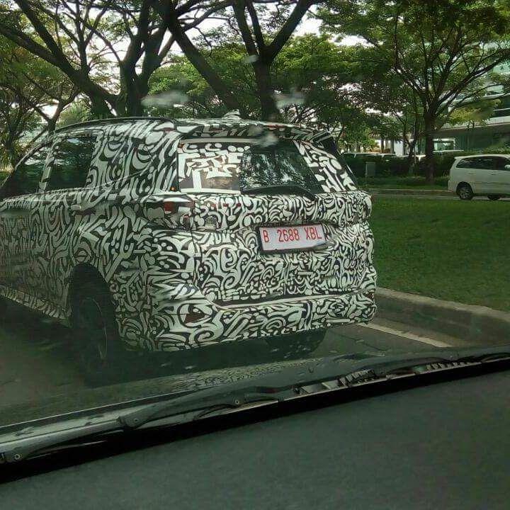 2018 Daihatsu Terios (Toyota Rush) spotted