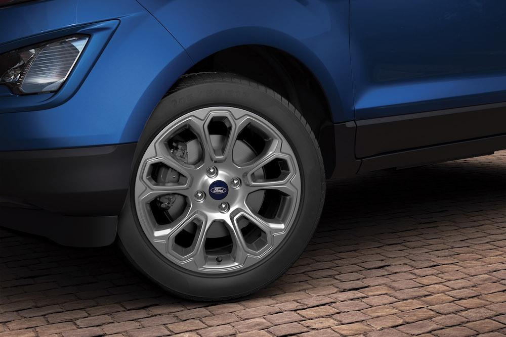2018 Ford EcoSport facelift India-spec alloy wheel