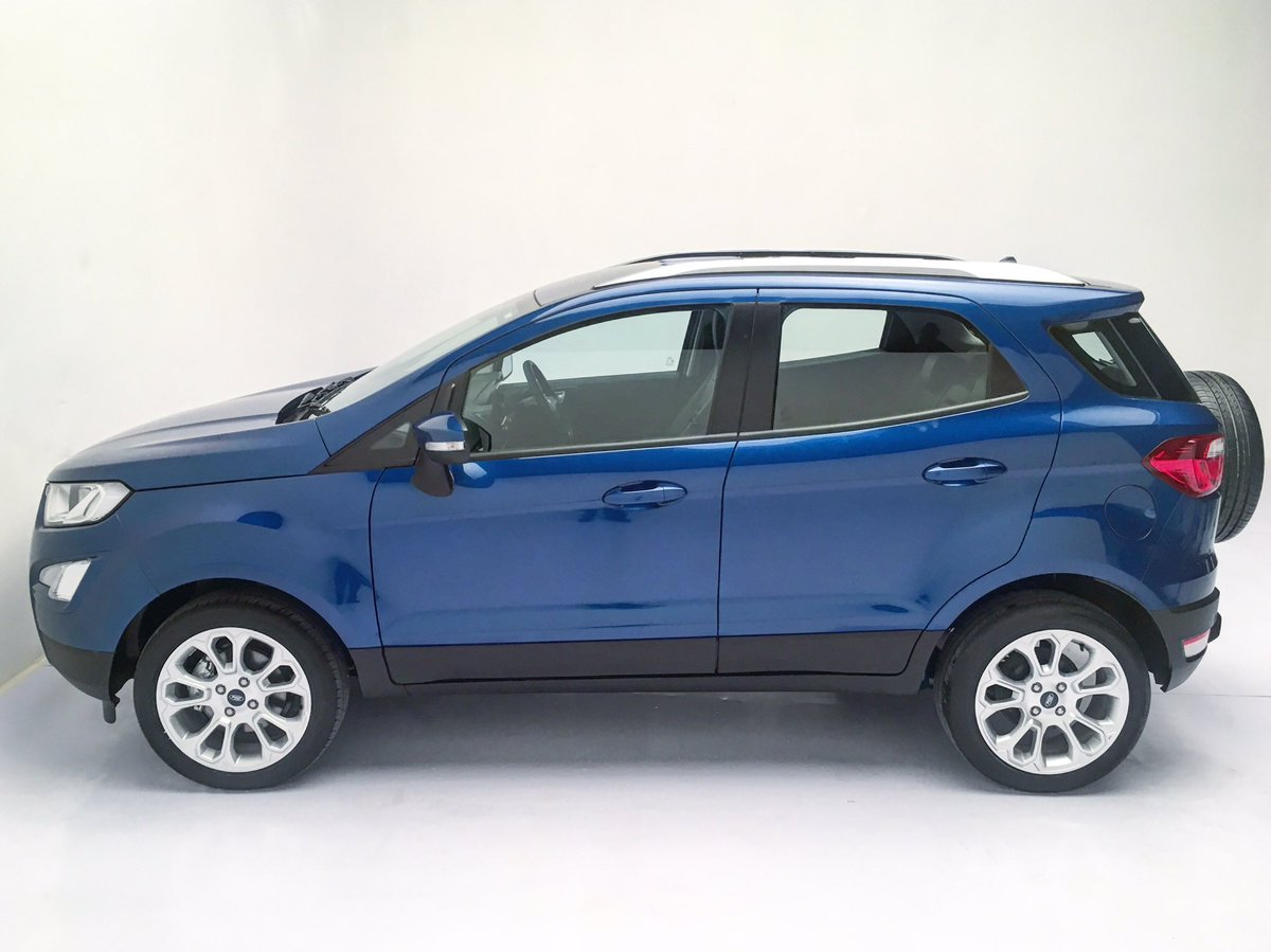2018 Ford EcoSport facelift India-spec side view