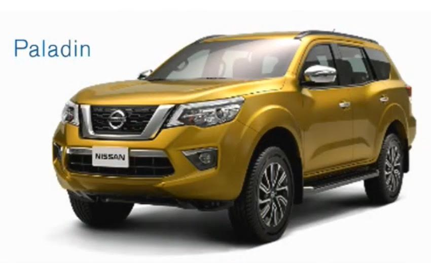 2018 Nissan Paladin front three quarters leaked image