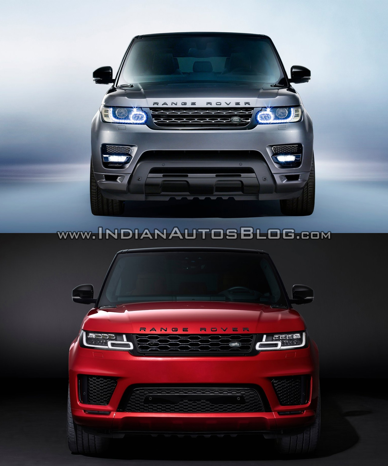 2018 range rover sport vs 2014 range rover sport old vs new. Black Bedroom Furniture Sets. Home Design Ideas