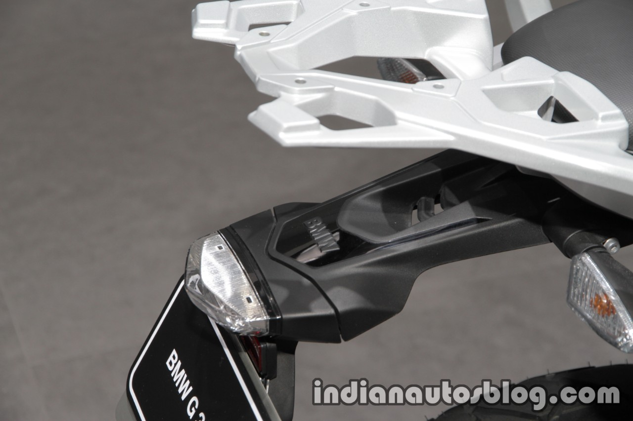 BMW G 310 GS tail lamp at 2017 Tokyo Motor Show