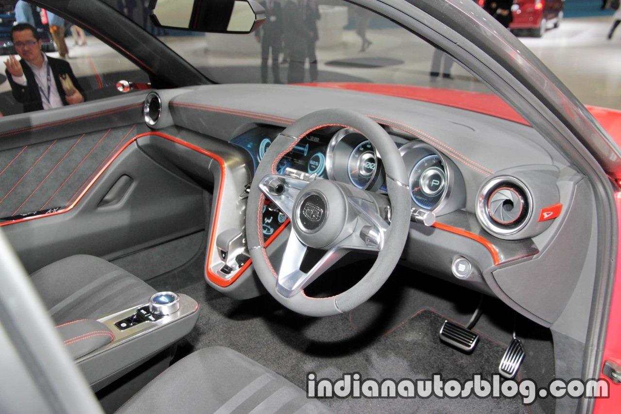 Daihatsu DN Compagno concept at the 2017 Tokyo Motor Show dashboard angle view