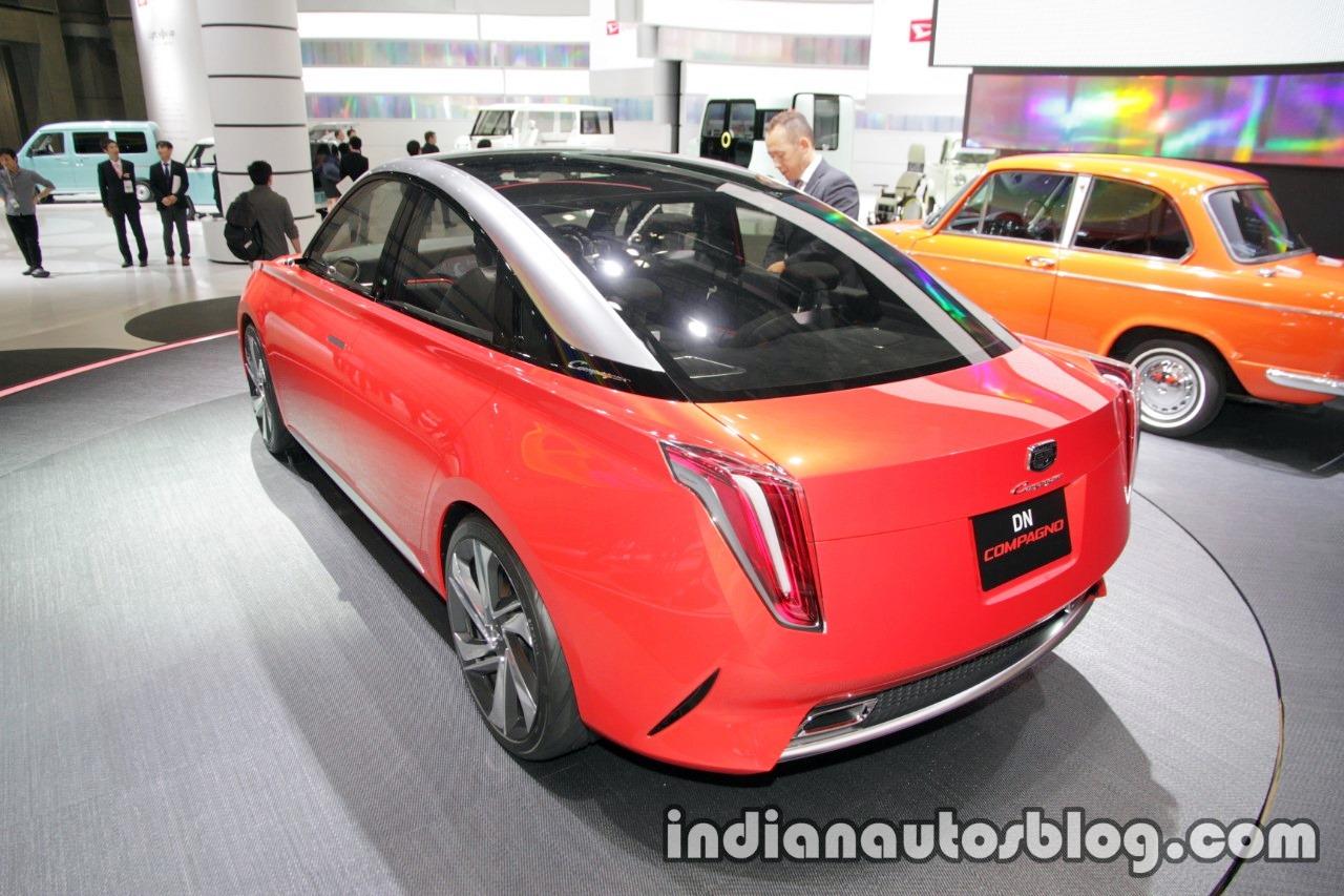 Daihatsu DN Compagno concept at the 2017 Tokyo Motor Show rear angle