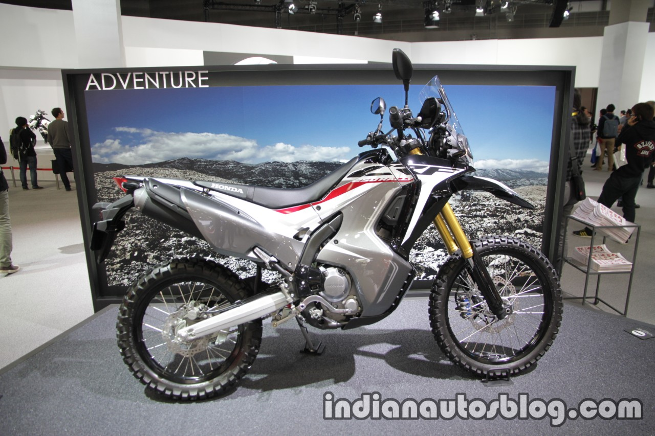 honda crf 250 rally side at tokyo motor show. Black Bedroom Furniture Sets. Home Design Ideas