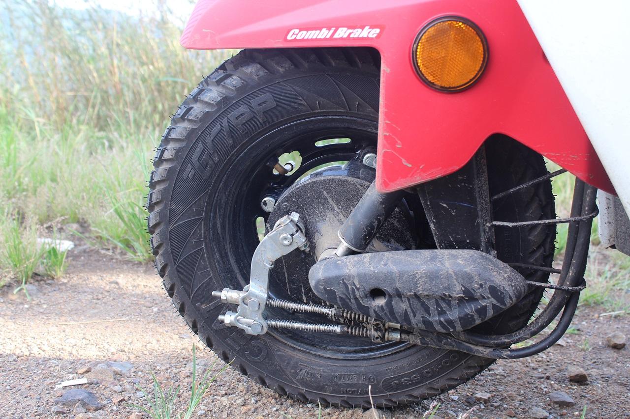 Honda Cliq Review front wheel