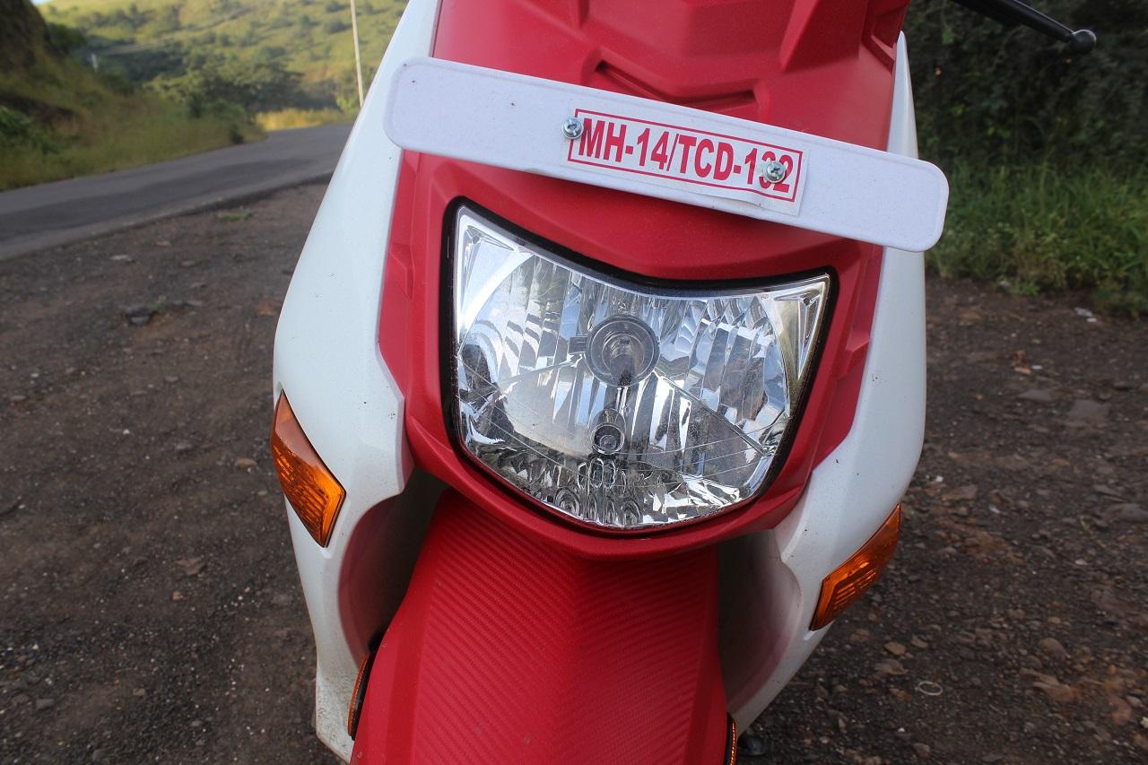 Honda Cliq Review headlamp