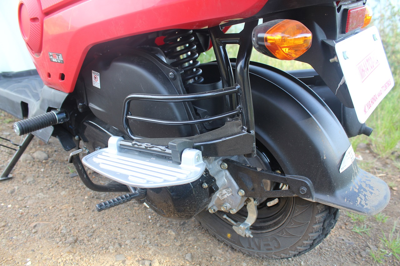 Honda Cliq Review rear suspension