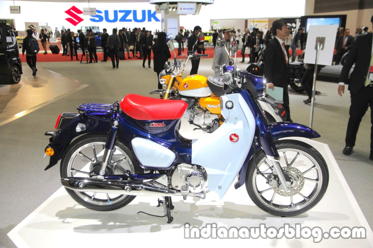 honda super cub c125 profile at 2017 tokyo motor show. Black Bedroom Furniture Sets. Home Design Ideas