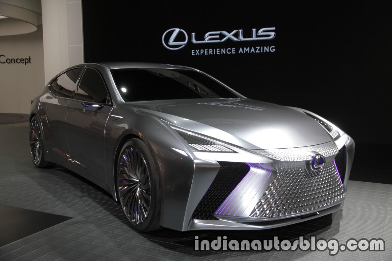 Lexus LS+ Concept at 2017 Tokyo Motor Show front three quarters