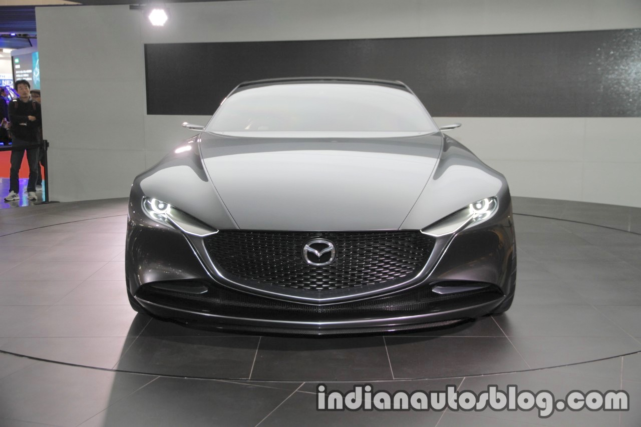 Mazda Vision Coupe concept front at 2017 Tokyo Motor Show
