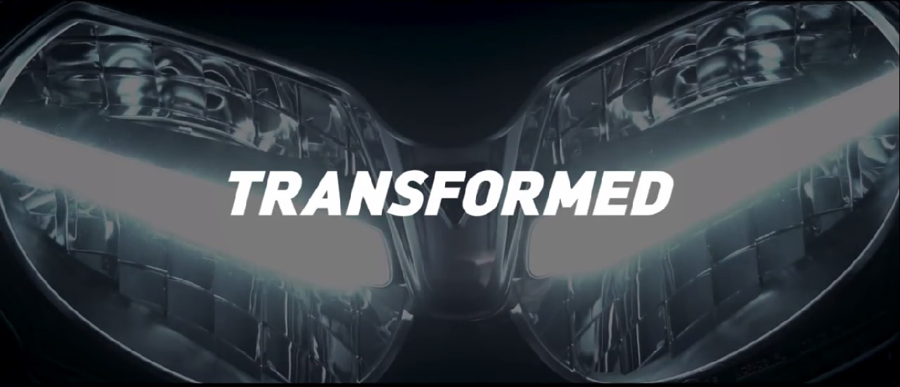 New Triumph Tiger teased headlights