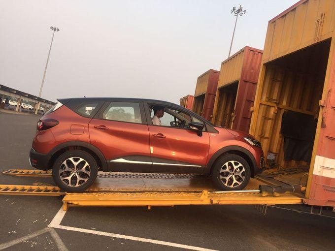 Renault Captur dispatches commence