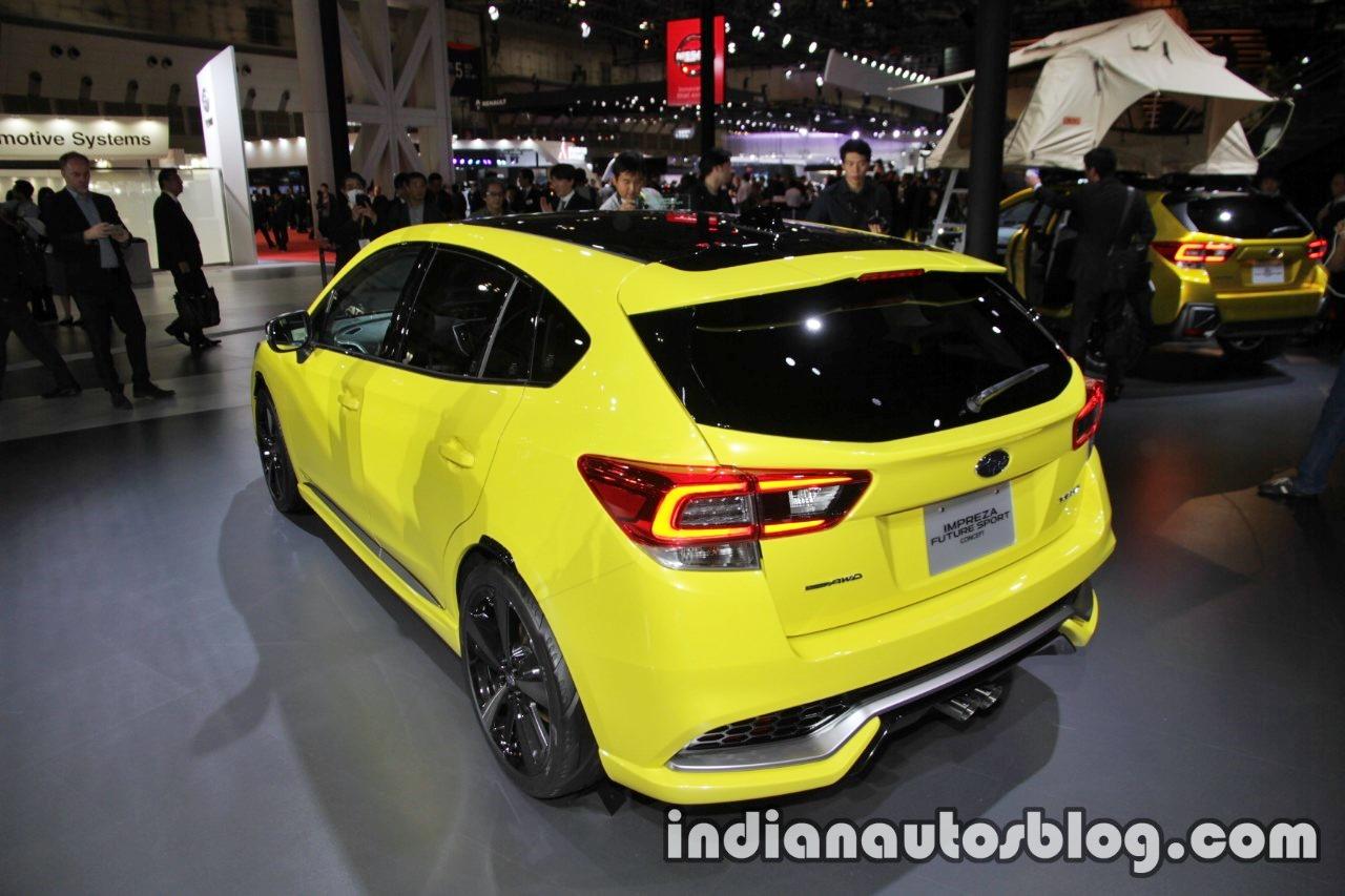 Subaru Impreza Future Sport concept 2017 Tokyo Motor Show left rear three quarters