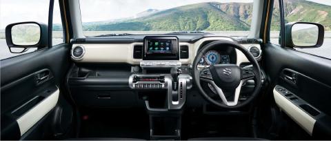 Suzuki Xbee concept dashboard