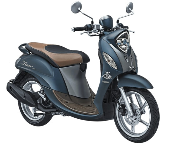 Yamaha Fino 125 Updated With Tubeless Tyres & New Colours