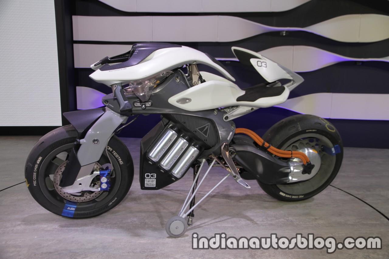 Yamaha Motoroid concept profile at 2017 Tokyo Motor Show