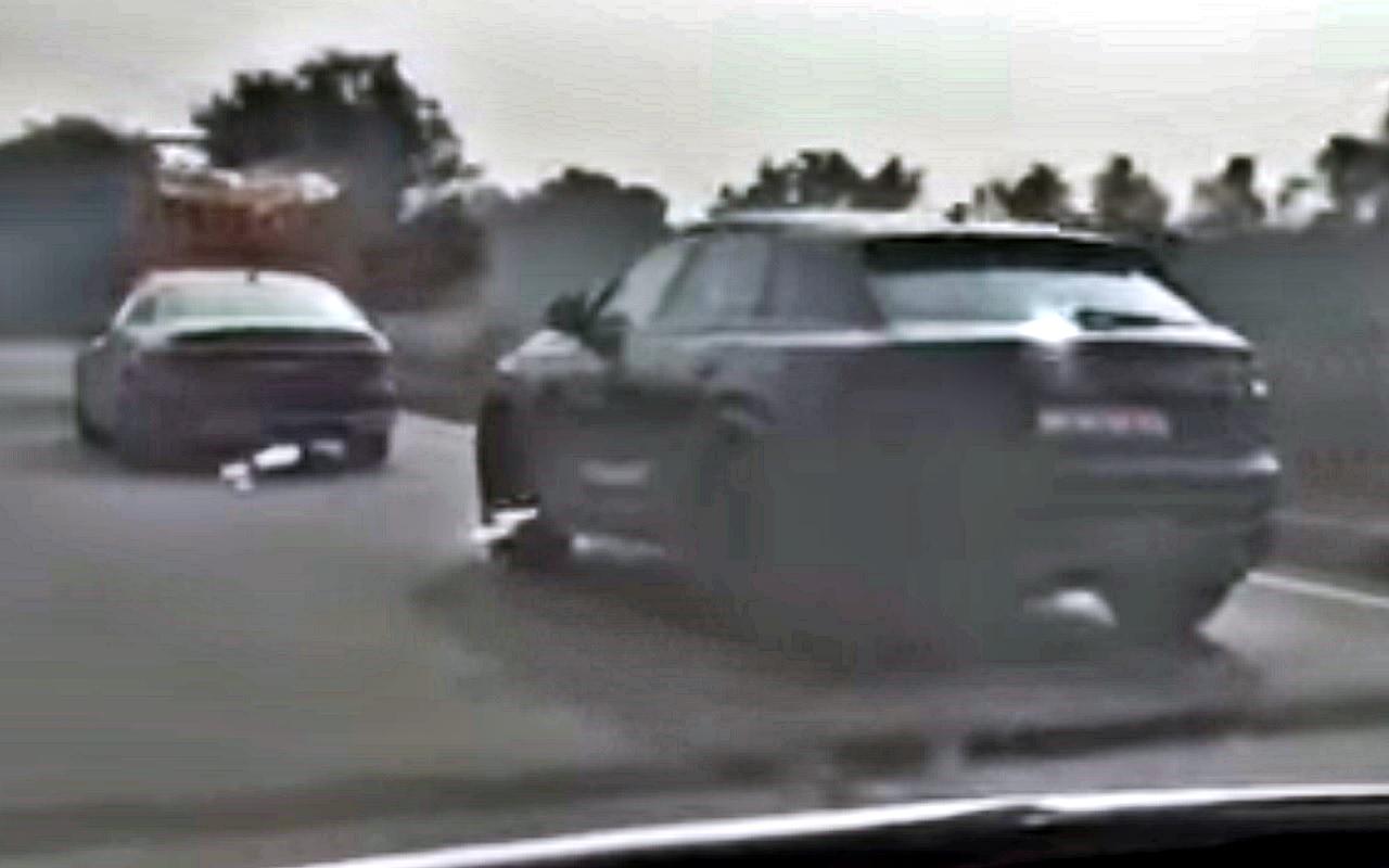2018 Audi A8 & 2018 Audi Q8 spied in India