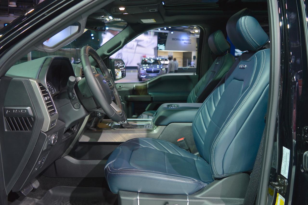 ford unique of interior f limited
