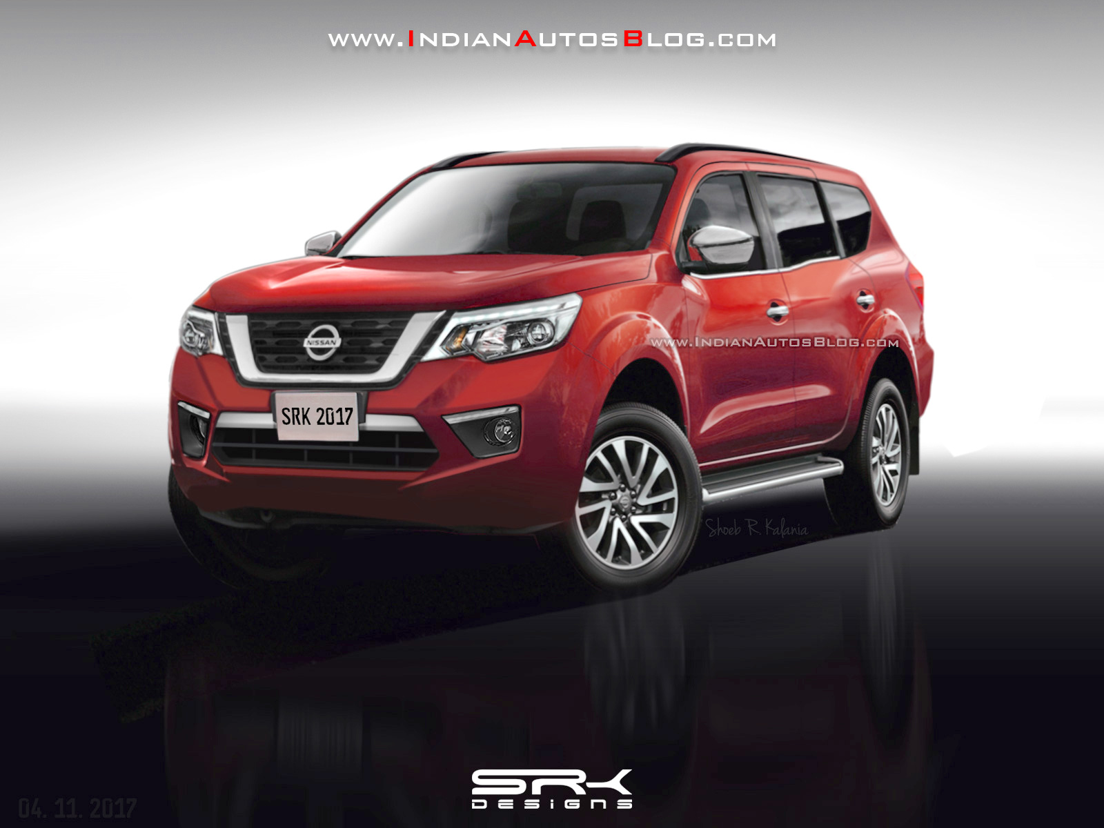 2018 nissan paladin nissan navara based suv rendered. Black Bedroom Furniture Sets. Home Design Ideas