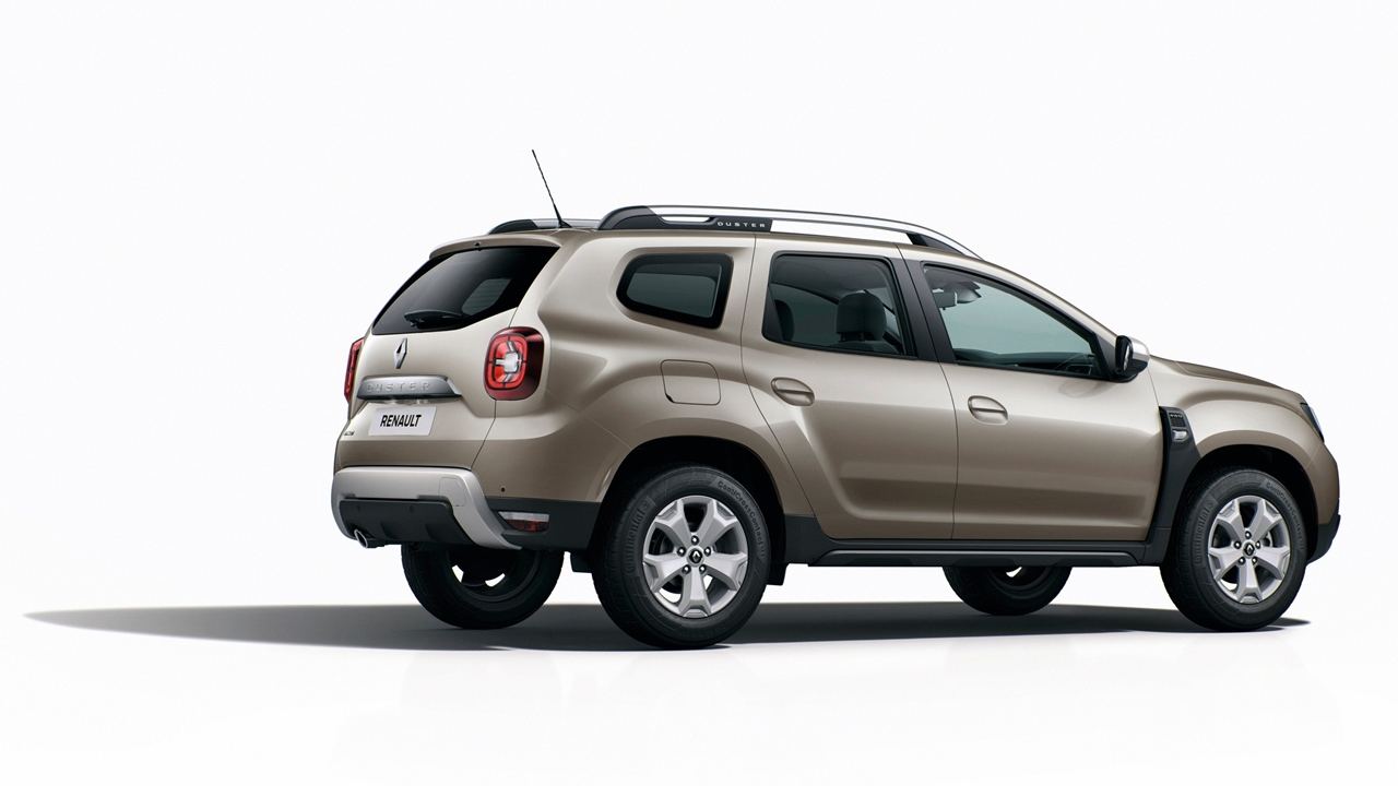 2018 Renault Duster rear angle