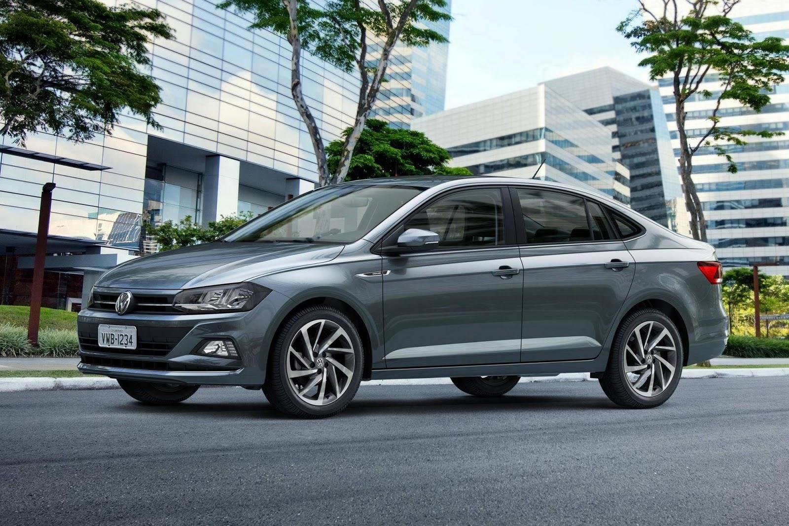 2018 VW Virtus (Polo based sedan) three quarters