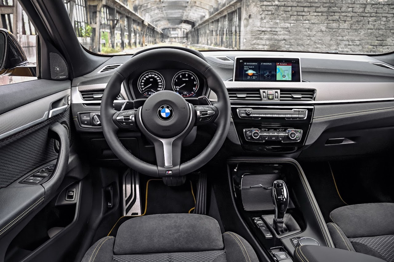 BMW X2 dashboard driver side