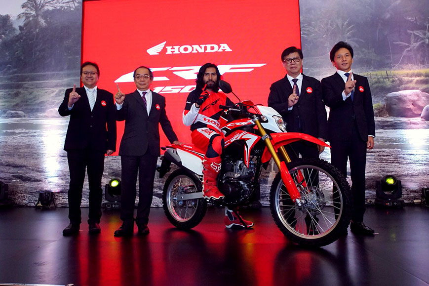 Honda CRF150L Indonesia launch