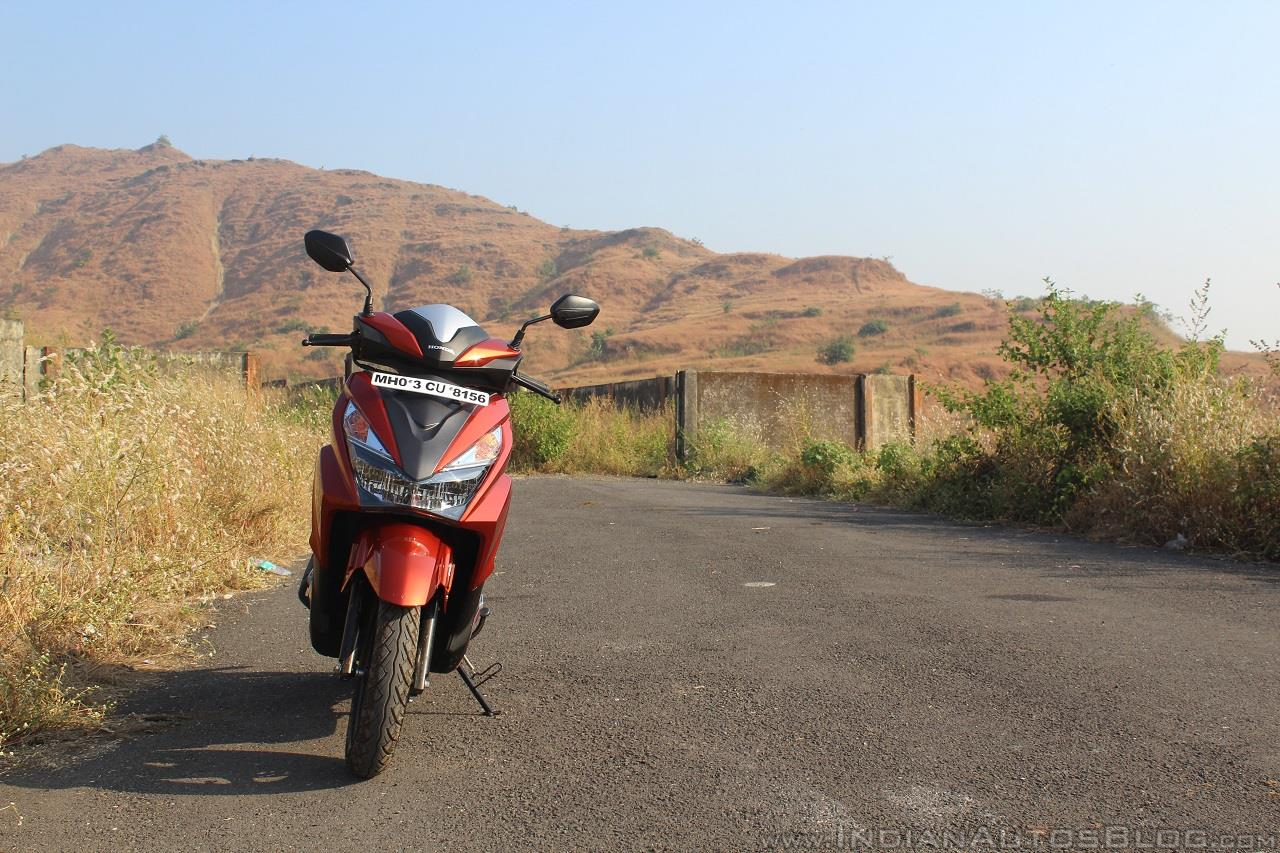 Honda Grazia first ride review front