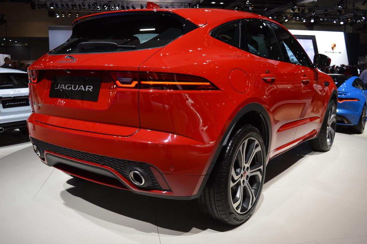 Jaguar E-Pace First Edition showcased at the 2017 Dubai ...