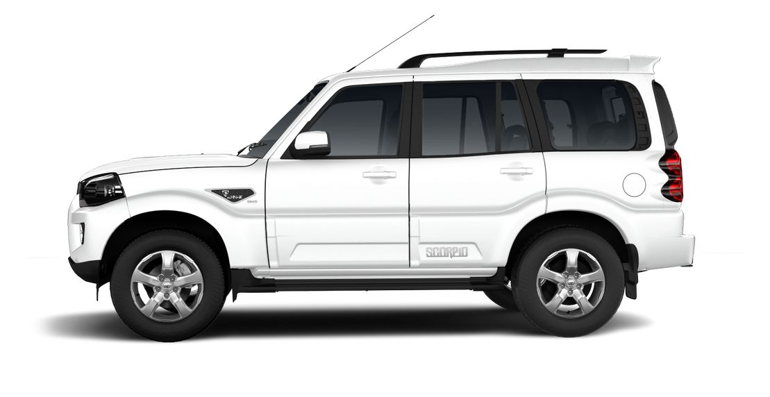 Mahindra Scorpio 2017 facelift side
