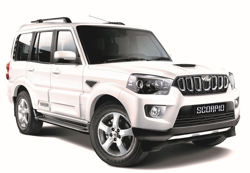 Mahindra Scorpio 2017 facelift