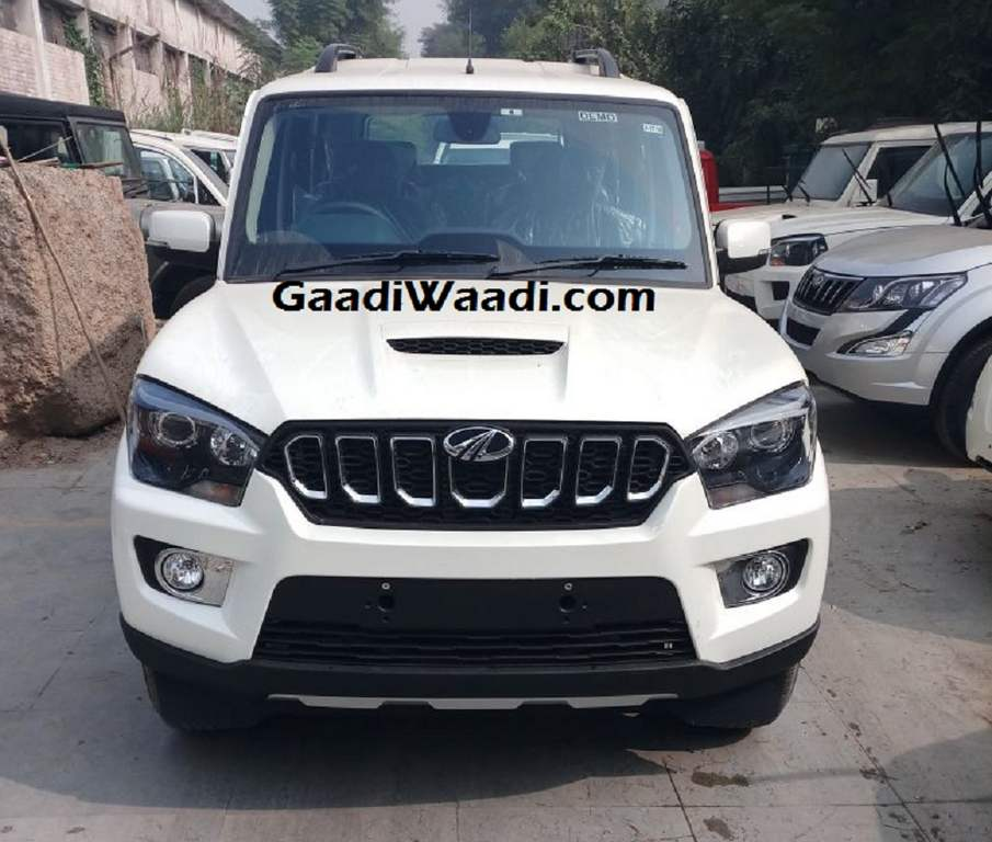 Mahindra Scorpio Facelift Front View