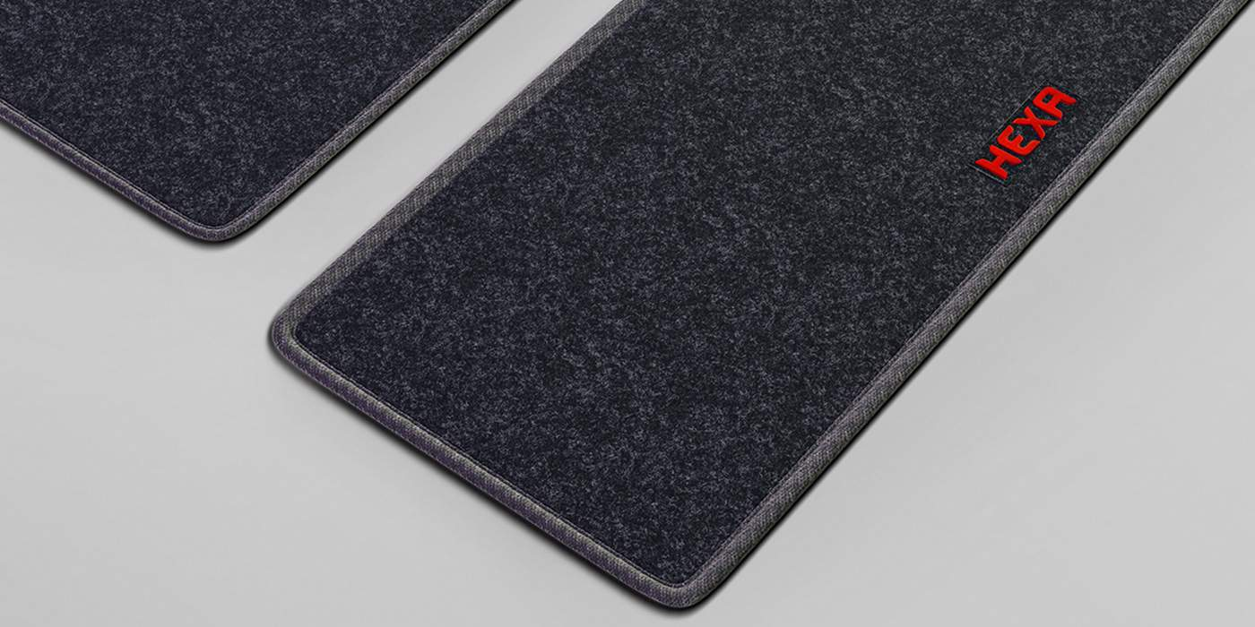 Tata Hexa Downtown special edition carpets