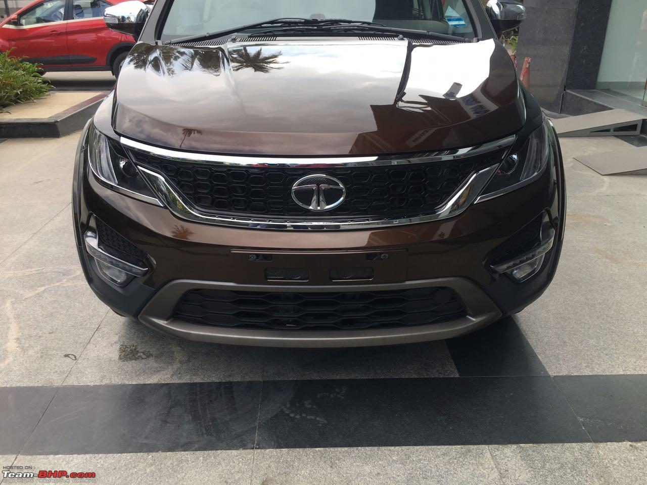 Tata Hexa Downtown special edition front section