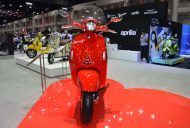 Vespa 946 RED front at 2017 Thai Motor Expo