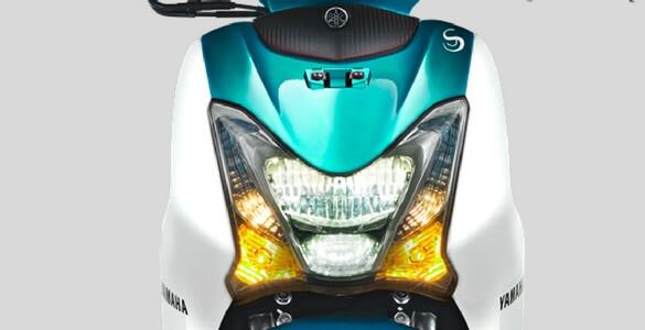 Yamaha Mio S Green headlight