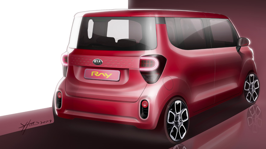 2018 Kia Ray (facelift) teaser